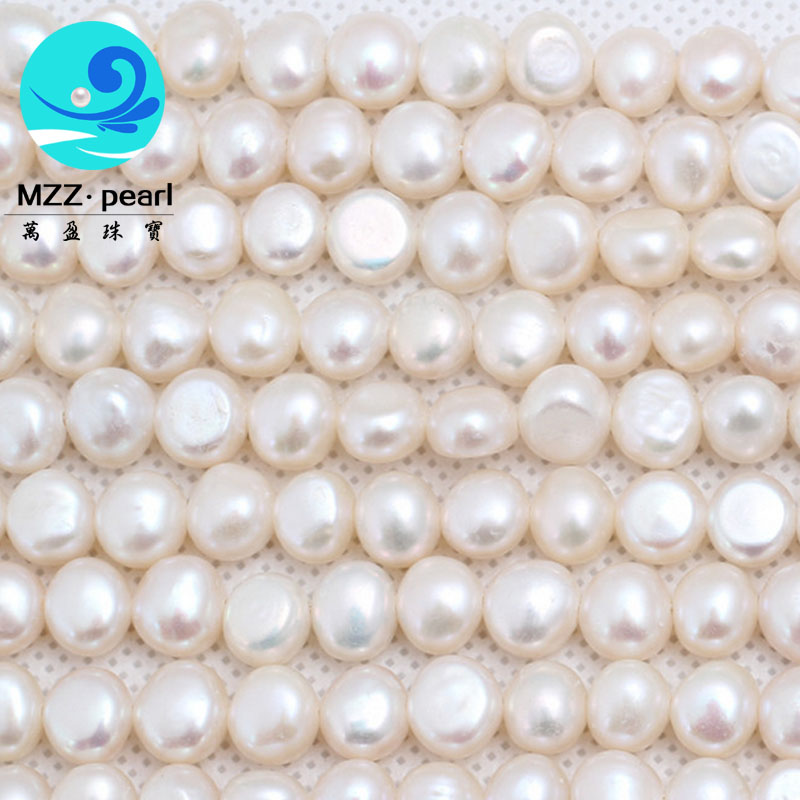 freshwater nugget pearl strands