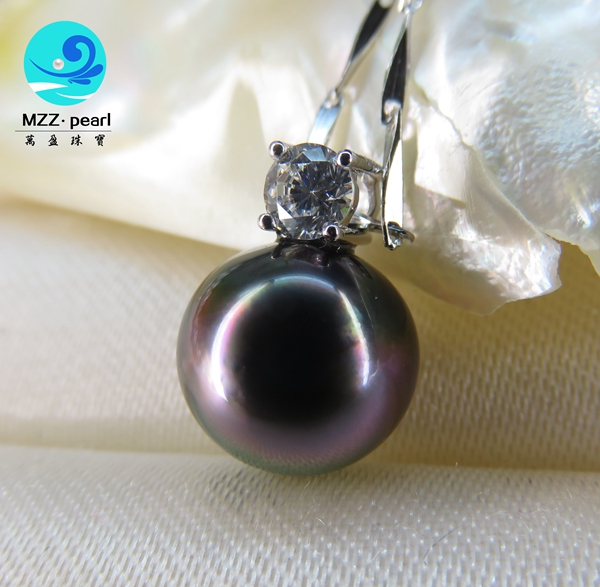 tahitian pearl necklace chain