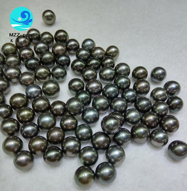 wholesale tahitian pearls black