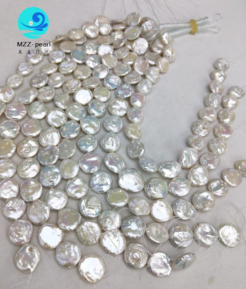 loose coin pearl strands