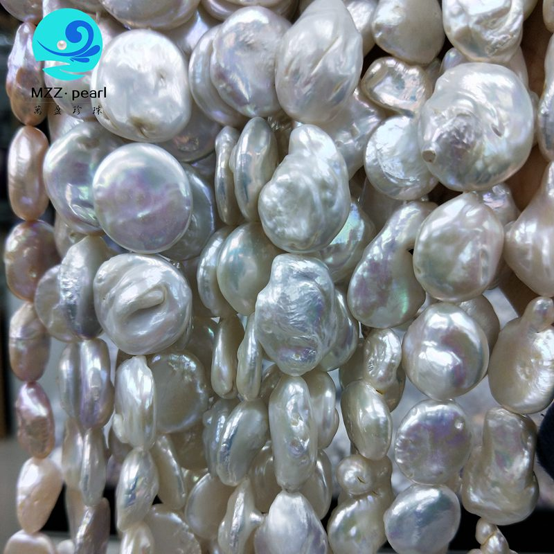 18MM Large coin pearls,