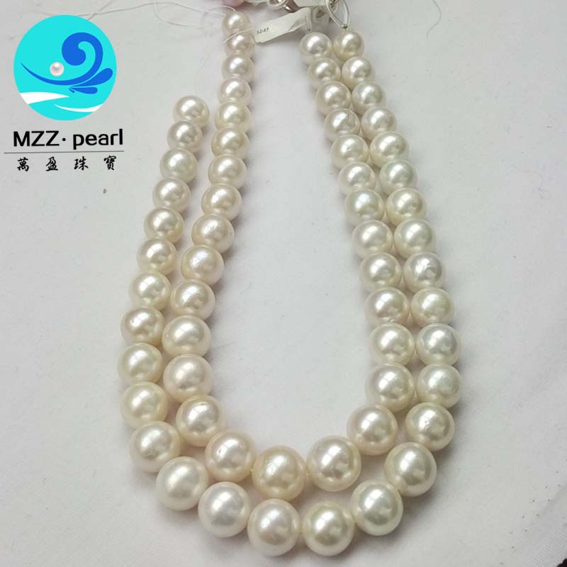 large round freshwater pearl necklace