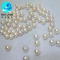 10-11mm round pearls loose
