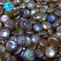 multicolor pearls coin shape