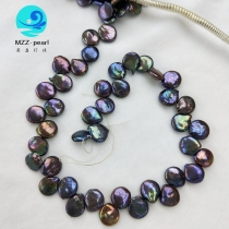 peacock coin pearls