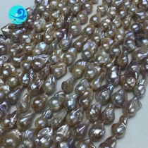 Natural baroque cultured pearl