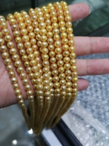 gold color freshwater pearl