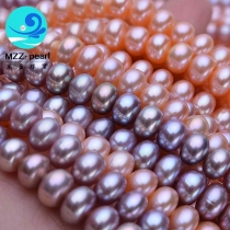 button pearl strands 7-8mm