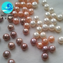 natural Button Freshwater Pearl