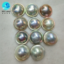 chinese mabe pearl seawater pearl beads with factory direct price for wholesale 17mm pearl size