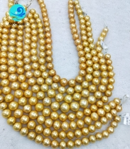Golden Edison Pearl Loose Strand