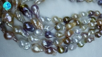 wholesale white baroque pearls necklaces