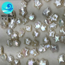 star shape pearl loose beads