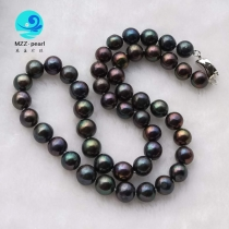 wholesale black pearl necklace