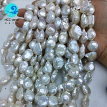 15mm large teardrop coin pearls