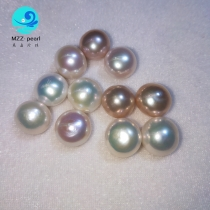 button shape edison pearl beads