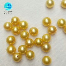 golden freshwater pearls