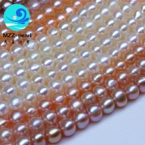 6mm near round pearl strings