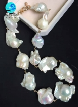 big pearl necklace for women