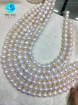 13mm potato round freshwater pearl strands