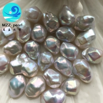 diamond shape loose pearl