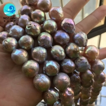 mixed color edison pearl strands