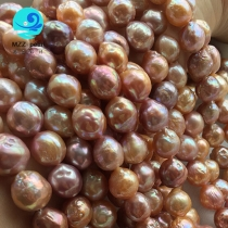nucleated pearl necklace