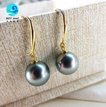 pearl earring with 18k gold