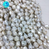 baroque diamond shape pearls